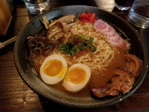 Spicy miso ramen from Yatagarasu