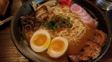Spicy miso ramen from Yatagarasu