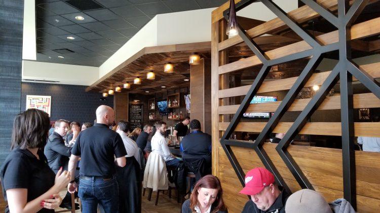 Interior of Bru Burger Bar